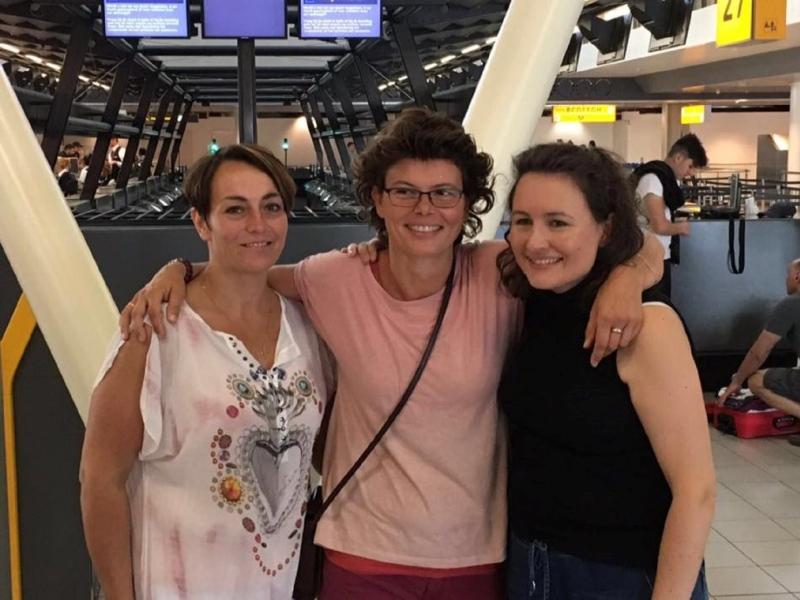 Irma, Nelleke en Suzanne