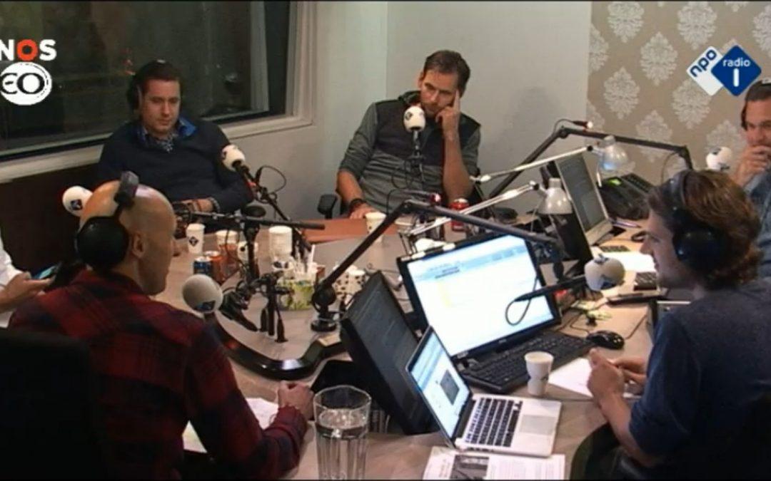 Pieter, Ruben en Michel bij NPO Radio 1