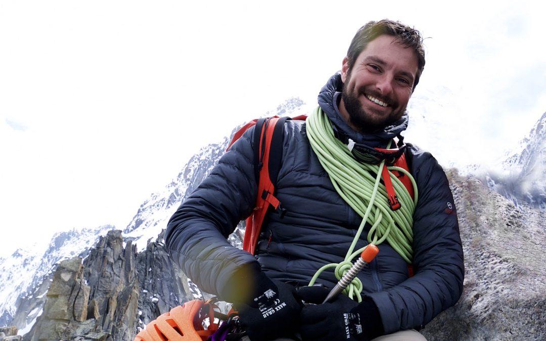 PERSBERICHT: Vermiste bergbeklimmer Christiaan Wilson redde mensenlevens.
